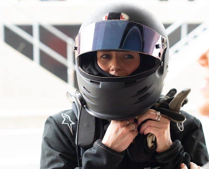 Nicola Gillatt racing driver
