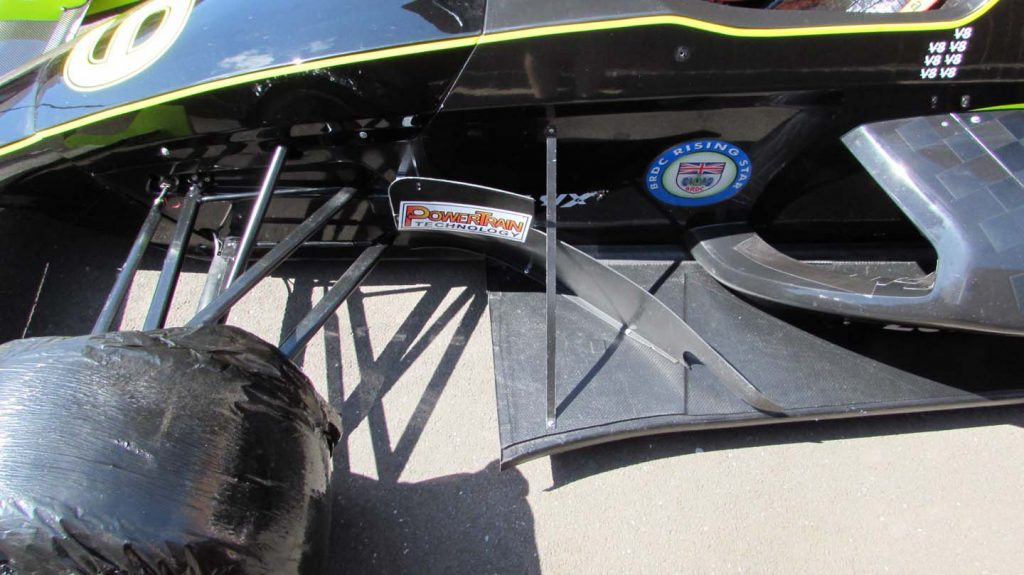 custom bardgeboard racing car