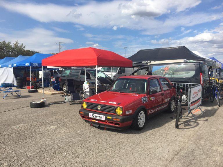 Racing Golf GTI paddock