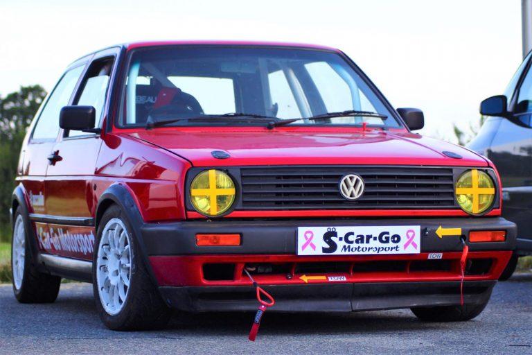 Red racing GTI