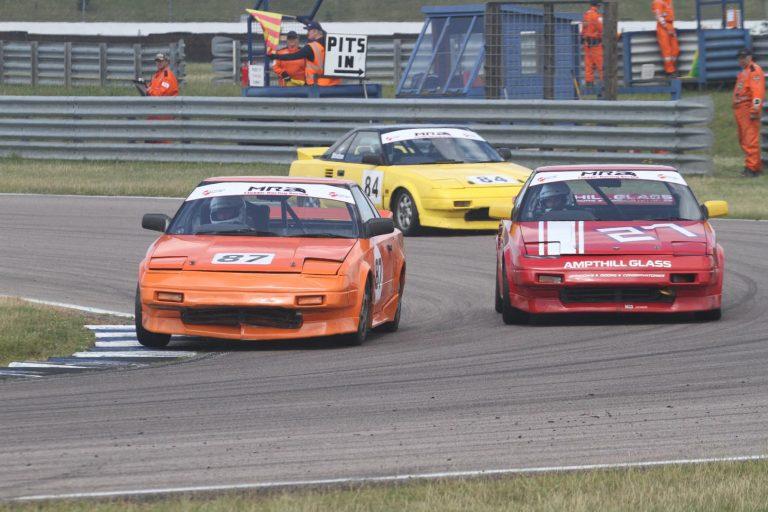 mr2 cars racing at Rockingham